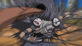 kayu Yamato menyerang kakuzu