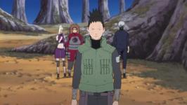 Shikamaru mengalihkan perhatian
