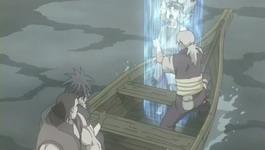 Kabuto menenangkan Yuukimaru