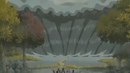 Ombak besar menyerang Kakashi dkk