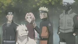 Naruto bercerita tentang temannya