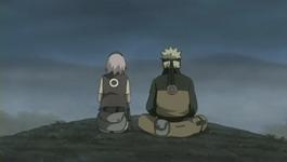 Naruto bertanya pada Sakura