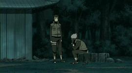 Kakashi dan Yamato diskusi