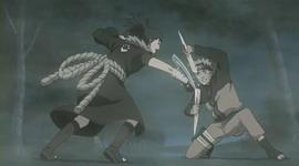 Guren vs Naruto