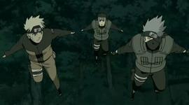 Naruto. Yamato dan Kakashi