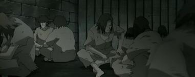 Para tahanan Orochimaru