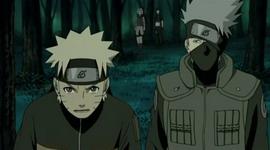 Kakashi mendekati Naruto
