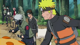 Naruto dkk bergabung dengan Kakashi dkk