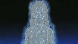 Hinata membuat lapisan chakra