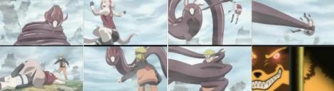 Naruto dan Sakura vs monster