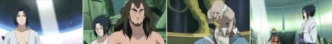Sasuke vs Shinou