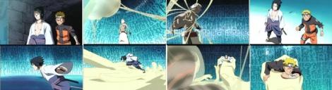 Naruto-Sasuke vs Shinou