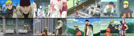 Naruto bertemu Shinou kemudia, Ia, Sakura dan Hinata mendapat misi mengantar Amaru dan Shinou