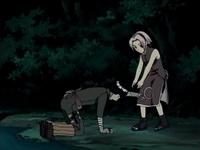 Sakura membawa Lee ke darat