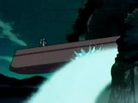 Perahu jatuh