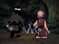 Lee dan Sakura diserang