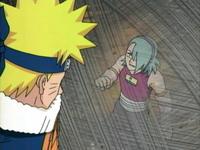 Monju heran Naruto lolos dari kawatnya