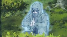 Shino mempersiapkan jutsu