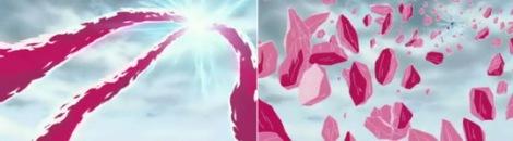 raikiri menghancurkan naga kristal