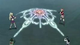 Shizune cs membawa kekkai ke danau