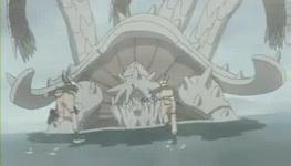 Naruto vs Sanbi