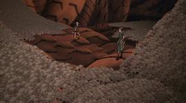 Sanbi mini disekeliling Naruto dan Guren