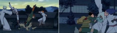 Lee dan Sakura menyerang