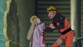 Naruto mencengkram Shion