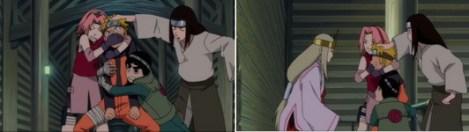 Shion memperhatikan wajah Naruto