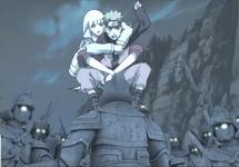 Naruto mencoba melawan pasukan hantu