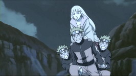 Naruto membawa Shion