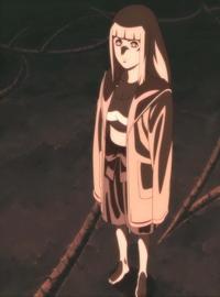 Shion mempersiapkan fuin no jutsu