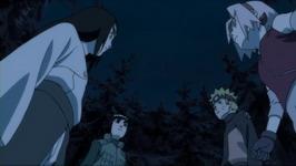 Neji memutuskan Naruto mengantar Shion seorang diri