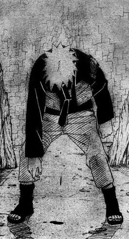 Naruto tertancap batang hitam