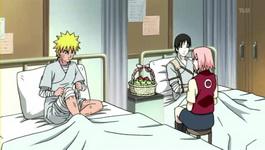 Naruto melepas perban