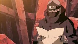 Kakuzu melihat peta